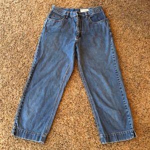 Eddie Bauer Capri Jeans Size 10T